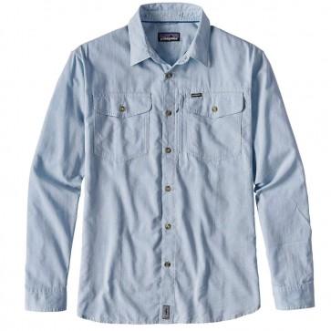 Patagonia Men's Long-Sleeved Cayo Largo Shirt  - Radar Blue