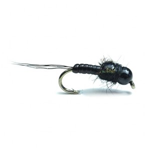 Black Tungsten Mayfly Nymph