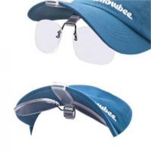 Cap-Peak Clip-on-Magnifiers