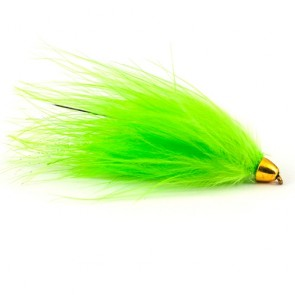 Tungsten Conehead Leech Chartreuse