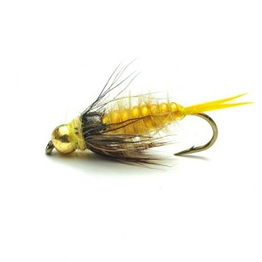 Yellow Tungsten Stonefly Nymph