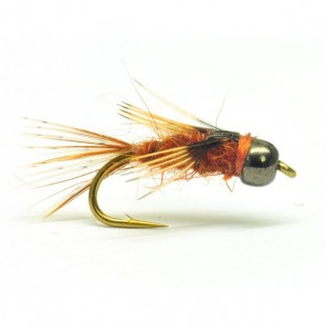 Rust Hare and Partridge Tungsten Nymph