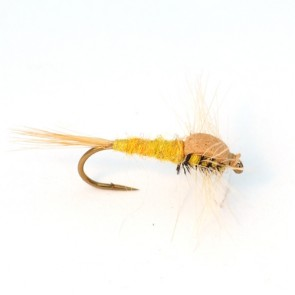 MK Emerging Mayfly Yellow