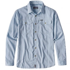 Patagonia Men's Long-Sleeved Cayo Largo Shirt  - Radar Blue