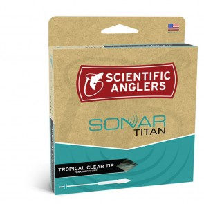 Scientific Anglers Sonar TITAN Tropical Clear TIP