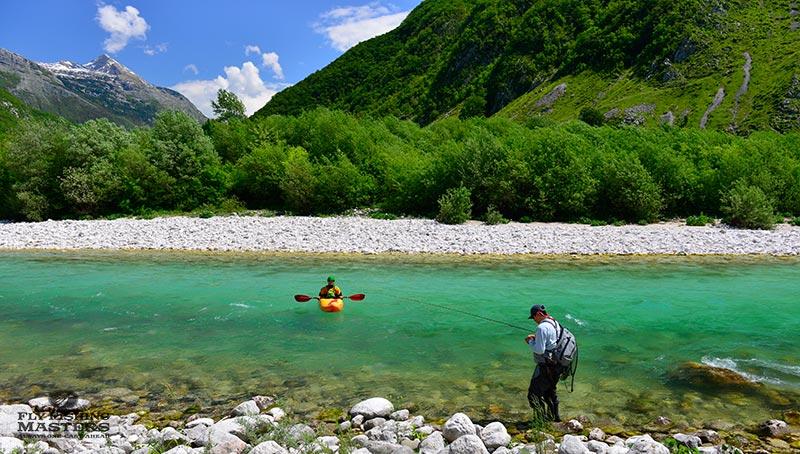 Flyfishing Slovenia