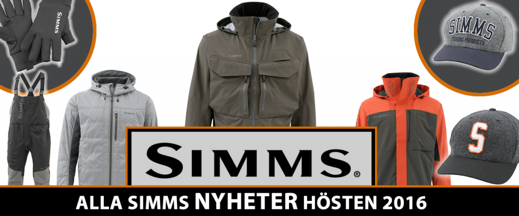 Simms Nyheter hösten 2016