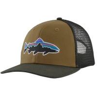 Patagonia Fitz Roy Trout Trucker Hat / Mulch Brown