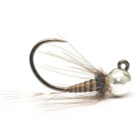 Quill Jig Nymph Natural