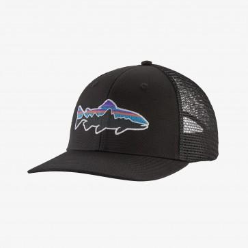 Patagonia Fitz Roy Trout Trucker Hat / Black