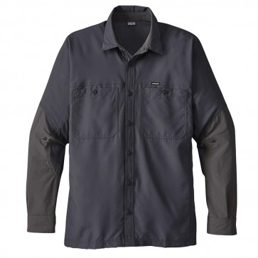 PATAGONIA MEN'S LIGHTWEIGHT FIELD SHIRT SMOLDER BLUE