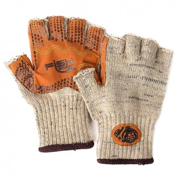 Fish Monkey Wolly Half Finger Gloves