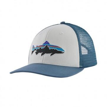 Patagonia Fitz Roy Trout Trucker Hat / White