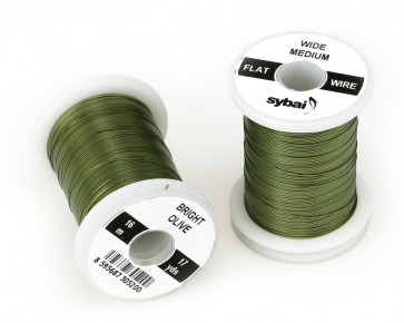 Sybai Flat Color Wire, Medium Wide