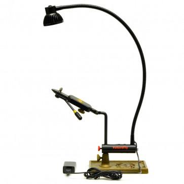 Flugbindningslampa med verktygshållare