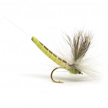 Extended Elkhair Mayfly Lt Olive