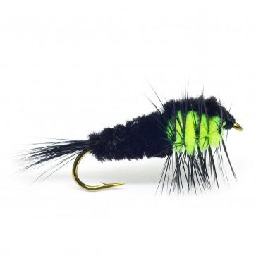 Montana svart/chartreuse