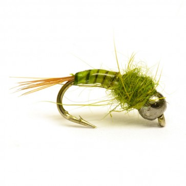 RP Olive Quill Tungsten Nymph