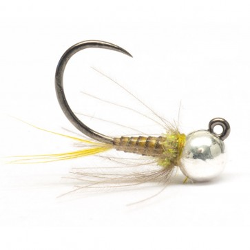 Quill Jig Nymph Golden Olive