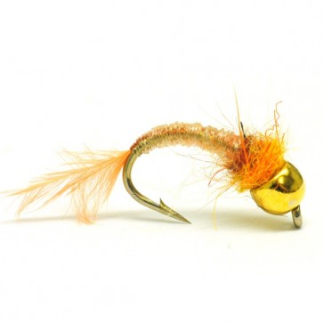 RP's Tan and Ostrich Tungsten Nymph