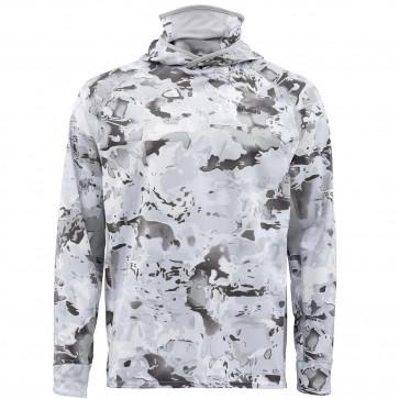 SIMMS Sflex UltraCool Armor Cloud Camo Grey
