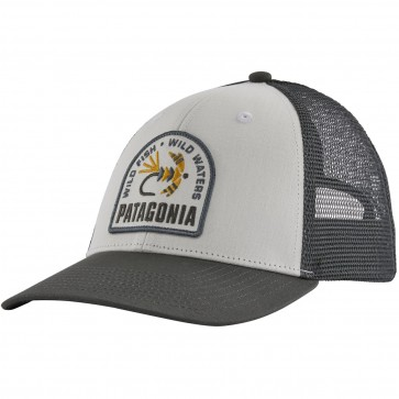 Patagonia Soft Hackle LoPro Trucker Hat / White