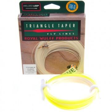 Royal Wulff 2-färgad Triangel Taper Fluglina