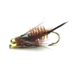Brown Tungsten Stonefly Nymph