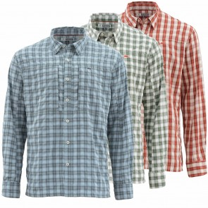 SIMMS BUGSTOPPER SHIRT PLAID