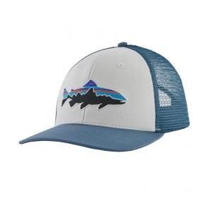 Patagonia Fitz Roy Trout Trucker Hat / White