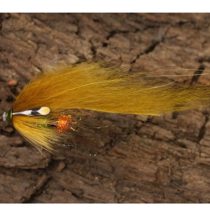 Futurefly Lax/Havsöring Zonker Tubfluga Olive