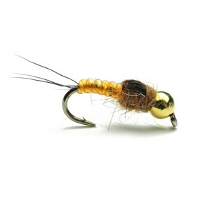 Yellow Tungsten Mayfly Nymph