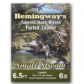 Hemingways Small Stream tafs