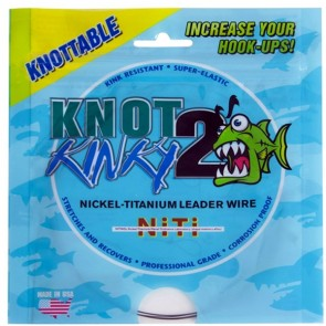 Knot 2 Kinky Nickel-Titanium tafs (gäddtafs)
