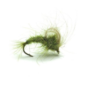 Olive CDC Loop Wing Emerger
