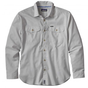 Patagonia Mens LS Cayo Largo Shirt - Drifter Grey