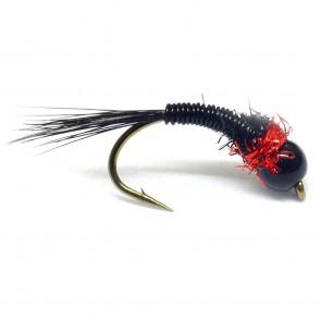 RP's Redstripe Tungsten Nymf