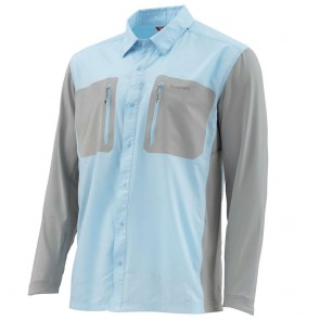 SIMMS Tricomp Cool Fishing Shirt - Mist