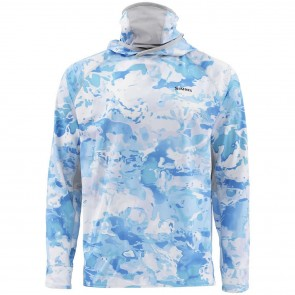 SIMMS Sflex UltraCool Armor Cloud Camo Blue
