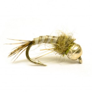 RP  Tan Quill Tungsten Nymph
