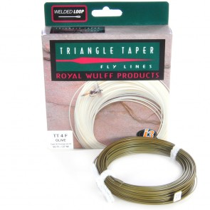 Royal Wulff Triangle Taper fluglinor