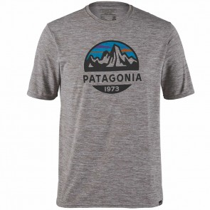 Patagonia Men's Capilene® Cool Daily Graphic Shirt / Feather Grey
