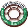 TROUTHUNTER Nylon EVO tafsmaterial 50m
