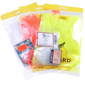 Fly Tying Kit Tricolor