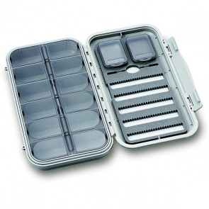 LARGE 5-ROW DRY & NYMPH WP FLY CASE W 12 COMP (CF-3305N)