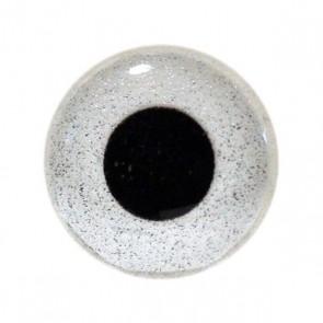 3D Epoxy Eyes Sand Silver