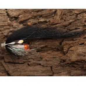 Futurefly Salmon Zonker Tube Black & Silver
