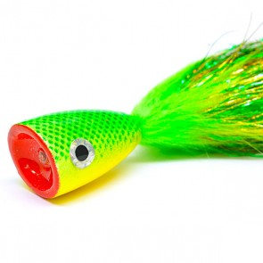 Gigga Poppers Chartreuse (30cm)