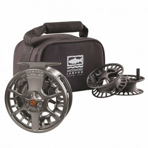Lamson Liquid fly reel / Smoke 3-PACK