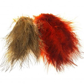 Fine Black Barred Marabou Feathers